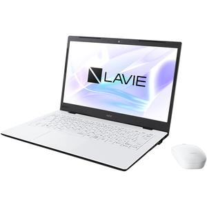 PC-HM350PAW NEC LAVIE Home Mobile HM350/PA(パールホワイト)- 14.0型モバイルノートパソコン [Core i3 / メモリ 4GB / SSD 256GB / Microsoft Office 2019]