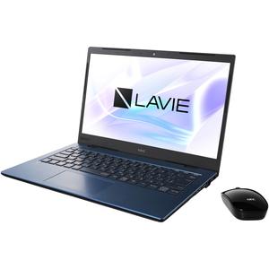 PC-HM350PAL NEC LAVIE Home Mobile HM350/PA(ネイビーブルー)- 14.0型モバイルノートパソコン [Core i3 / メモリ 4GB / SSD 256GB / Microsoft Office 2019]