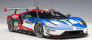 1/18 フォード GT 2016 #66 (ル・マン24時間レース LMGTE Proクラス4位)【81610】 オートアート