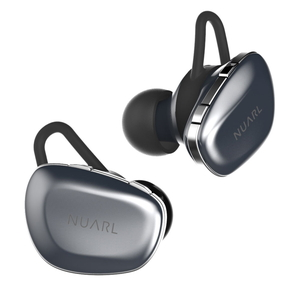 N6-SV NUARL 完全ワイヤレス Bluetoothイヤホン(シルバー) NUARL N6 TRULY WIRELESS STEREO EARBUDS