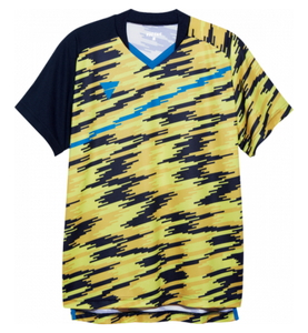 TSP-031476-0400-XS ヴィクタス 男女兼用 卓球用ゲームシャツ(イエロー・サイズ:XS) VICTAS V-GS902