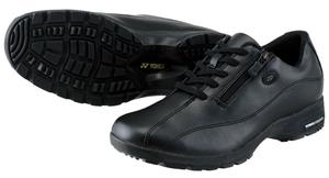 SHW-LC21 ヨネックス レディース ウォーキングシューズ (ブラック/ブラック・24.5cm) YONEX CASUAL WALK パワークッションLC21