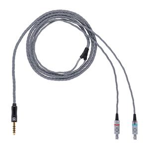 ALO-5171 エーエルオー オーディオ ヘッドホンリケーブル(1.2m)【CASCADE・HD800端子⇔3.5mmステレオミニ】Litz Wire Headphone Cable ALO audio