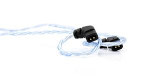 BEA-6684 ビートオーディオ ヘッドホンリケーブル(1.2m)【qdc/UE Custom⇔Lightning】 Beat Audio