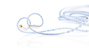BEA-6691 ビートオーディオ ヘッドホンリケーブル(1.2m)【MMCX⇔3.5mmステレオミニ】 Beat Audio