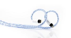 BEA-6783 ビートオーディオ ヘッドホンリケーブル(1.2m)【Custom 2pin⇔Lightning端子】 Beat Audio