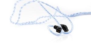 BEA-6844 ビートオーディオ ヘッドホンリケーブル(1.2m)【qdc/UE Custom⇔3.5mmステレオミニ】 Beat Audio