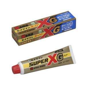 AX-015 セメダイン スーパーXゴールド 135ml(クリア) 超多用途・高機能 速乾クリア 箱入