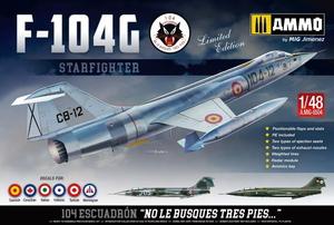 1/48 F-104G スターファイター 「スペイン空軍」【AMO-8504】 アモ