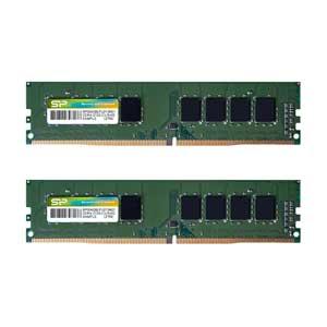 SP032GBLFU240B22 シリコンパワー PC4-19200 (DDR4-2400)288pin Non-ECC Unbuffered DIMM 32GB(16GB×2枚)