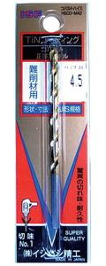 P-TCOD12.9 イシハシ精工 TINコバルト正宗ドリル 12.9mm (1本パック)