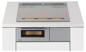 KZ-YSF36S パナソニック ビルトインIHクッキングヒーター【幅60cm】(ライトシルバー) Panasonic ラクッキングリル YSシリーズ YSFタイプ [KZYSF36S]