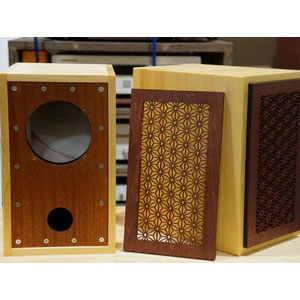 SK-NW08L ムジカノート スピーカーボックスキット(ペア/2台1組) MusicaNote