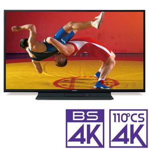 (標準設置料込_Aエリアのみ)TH-49GR770 パナソニック 49V型地上・BS・110度CSデジタル4Kチューナー内蔵 LED液晶テレビ (2TB HDD内蔵、BDドライブ内蔵) Panasonic VIERA 4K