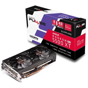 11295-01-20G SAPPHIRE PCI Express 4.0対応 グラフィックスボードSAPPHIRE PULSE Radeon RX 5500XT 8G DDR6