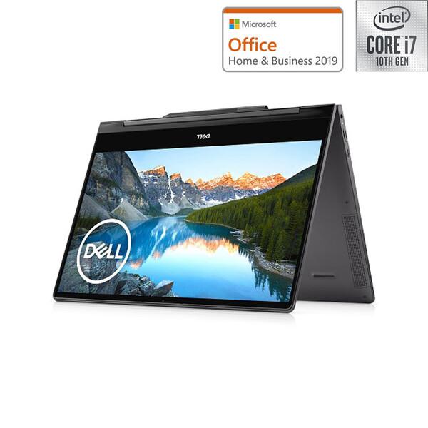 MI773CP-9WHBC DELL(デル) Inspiron 13 7391 2-in-1 (ブラック) 13.3型 ノートパソコン [Core i7-10510U / 8GB / 512GB(SSD)/ Office Home & Business 2019]
