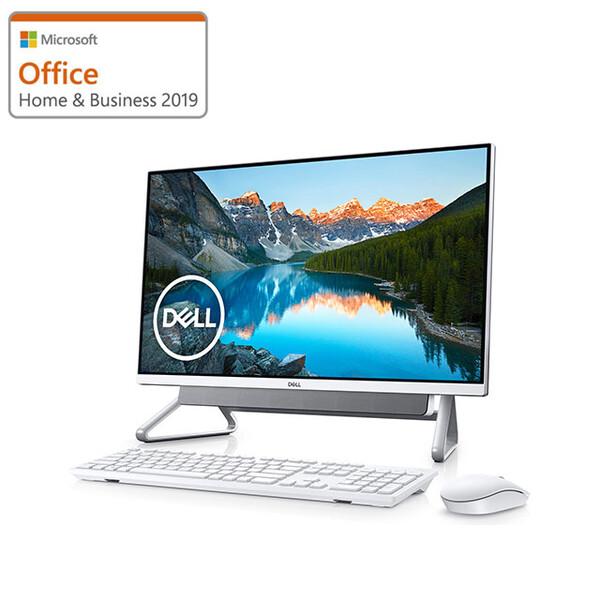 FI557-9WHBSC DELL(デル) Inspiron 24 5490 (シルバー) 23.8型フレームレスデスクトップ [Core i5-10210U / 8GB / 256GB(SSD)+ 1TB(HDD) / Microsoft Office 2019 ]