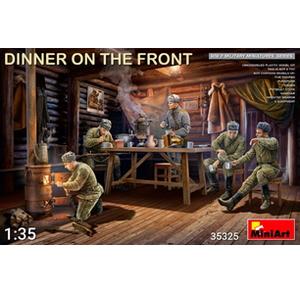 1/35 前線で夕食を取る兵士5体入【MA35325】  ミニアート