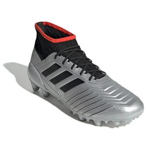 AJ-EF8995-250 アディダス サッカー スパイク(シルバーメット/コアブラック/ハイレゾレッド S18・サイズ:25.0cm) adidas プレデター 19.2-ジャパン HG/AG(硬い土用/人工芝用)