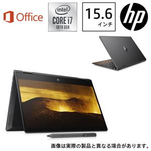 8WE02PA-AAAA HP(エイチピー) 15.6型ノートパソコン HP ENVY x360 15-dr1015TU-OHB ナイトフォールブラック & ナチュラルウォールナット (i7/8GB/512GB/Optane/H&B 2019)