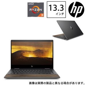 8TW30PA-AAAA HP(エイチピー) 13.3型ノートパソコン HP ENVY x360 13-ar0099AU ナイトフォールブラック & ナチュラルウォールナット (Ryzen3/8GB/256GB)