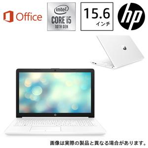 9AU46PA-AAAB HP(エイチピー) 15.6型ノートパソコン HP 15-da2023TU-OHB ピュアホワイト (i5/8GB/1TB/Optane/H&B 2019)