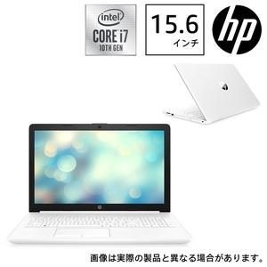 9AK25PA-AAAA HP(エイチピー) 15.6型ノートパソコン HP 15-da2026TX ピュアホワイト (i7/8GB/128GB+1TB)