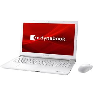 P1X7MPBW Dynabook(ダイナブック) dynabook X7 シリーズ(リュクスホワイト) 15.6型ノートパソコン (Core i7 / メモリ 8GB / SSD 256GB+HDD 1TB)Microsoft Office 2019付属