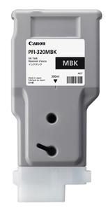 PFI-320MBK キヤノン 純正imagePROGRAF用インクタンク(顔料・マットブラック・300ml) [2889C001]