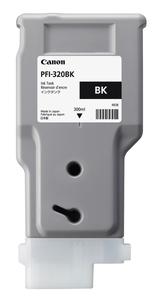PFI-320BK キヤノン 純正imagePROGRAF用インクタンク(顔料・ブラック・300ml) [2890C001]