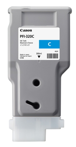 PFI-320C キヤノン 純正imagePROGRAF用インクタンク(顔料・シアン・300ml) [2891C001]