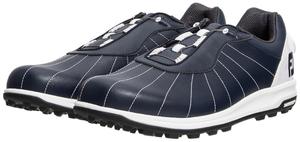 56214W25 フットジョイ メンズ・スパイクレス・ゴルフシューズ(ネイビー×ホワイト・25.0cm) FootJoy トレッド Boa