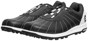 56215W25 フットジョイ メンズ・スパイクレス・ゴルフシューズ(ブラック×ホワイト・25.0cm) FootJoy トレッド Boa