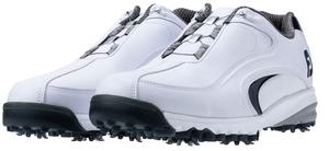 54185XW245 フットジョイ メンズ・ゴルフシューズ(ホワイト×ネイビー・24.5cm) FootJoy ウルトラフィット XW Boa