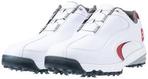 54183XW27 フットジョイ メンズ・ゴルフシューズ(ホワイト×レッド・27.0cm) FootJoy ウルトラフィット XW Boa