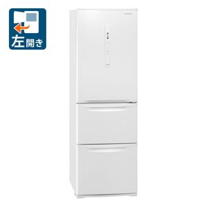 NR-C371NL-W パナソニック 365L 3ドア冷蔵庫(ピュアホワイト)【左開き】 Panasonic Nタイプ [NRC371NLW]
