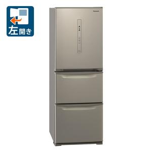 NR-C341CL-N パナソニック 335L 3ドア冷蔵庫(シルキーゴールド)【左開き】 Panasonic Cタイプ [NRC341CLN]