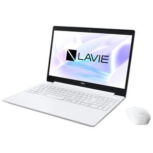 PC-NS300RAW NEC LAVIE Note Standard NS300/RAB カームホワイト - 15.6型ノートパソコン AMD Ryzen 3 / メモリ 4GB / SSD 256GB / DVDドライブMicrosoft Office Home & Business 2019