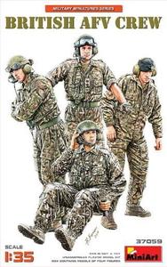 1/35 イギリス軍戦車兵セット4体入【MA37059】  ミニアート