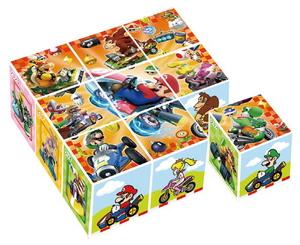マリオカート キューブパズル9コマ ジグソーパズル 安心と信頼 期間限定今なら送料無料 アポロ社