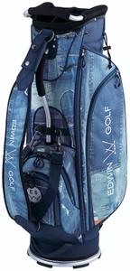 EDWIN-044-BL エドウィン キャディバッグ(9型・ブルー) EDWIN