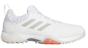 AD20SS-EE9102-255 アディダス メンズ・スパイクレス・ゴルフシューズ(ホワイト/メタルグレー/ライトソリッドグレー・25.5cm) adidas コードカオス
