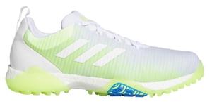 AD20SS-EE9101-270 アディダス メンズ・スパイクレス・ゴルフシューズ(ホワイト/シグナルグリーン/グローリーブルー・27.0cm) adidas コードカオス