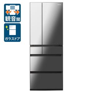 (標準設置料込)NR-F606WPX-X パナソニック 600L 6ドア冷蔵庫(オニキスミラー) Panasonic WPXタイプ [NRF606WPXX]