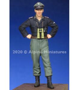 1/35 WWII 独 ドイツ武装親衛隊 戦車搭乗員 士官【AM35272】  アルパイン