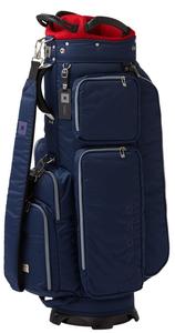 OB042004 オノフ キャディバッグ(ネイビー・9型・47インチクラブ対応) ONOFF Caddie Bag
