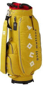OB362026 オノフ キャディバッグ(イエロー・9型・47インチクラブ対応) ONOFF Caddie Bag