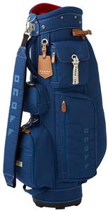 OB072004 オノフ レディース キャディバッグ(ネイビー・8.5型・46インチクラブ対応) ONOFF Caddie Bag