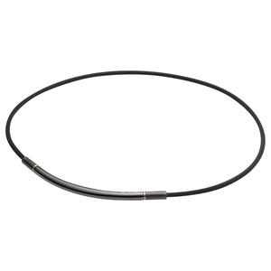 0216TG721151 ファイテン RAKUWAネック メタックス ラウンド[サイズ:40cm](ブラック/ゴールド) phiten ラクワ