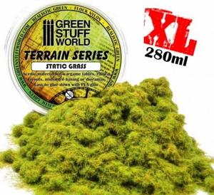 【再生産】スタティックグラス 3mm グリーン 4色混合(280ml) 【GSWD-22】  グリーンスタッフワールド